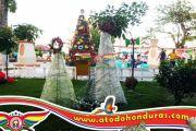 Navidad 2019 en la Plaza Central de La Ceiba, Atlantida, Honduras